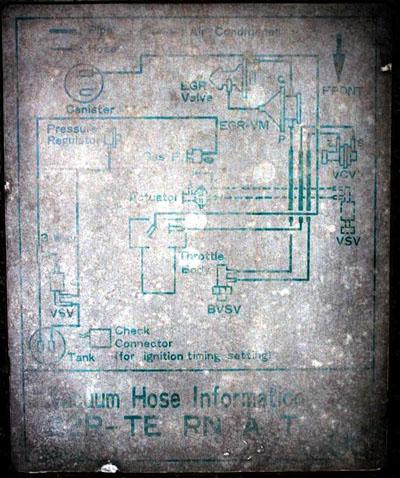 85 22re vacuum diagram rh board marlincrawler com 1984 toyota 22r vacuum diagram toyota 22r hose diagram